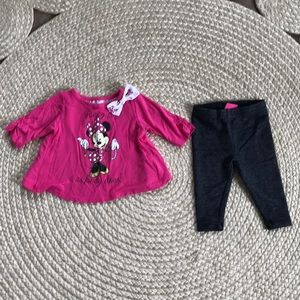 Disney Minnie Mouse 0-3month outfit